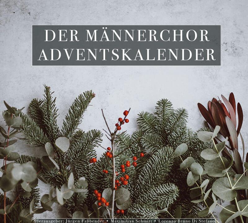 Der Männerchor Adventskalender – CD-Cover